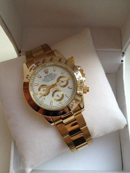 часы rolex daytona gold золотой циферблат в казахстане своих